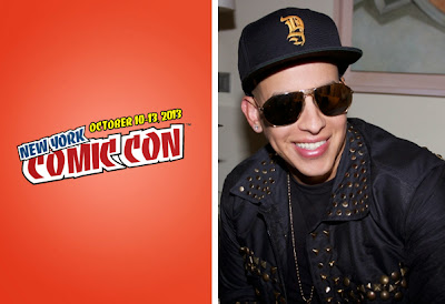 Daddy Yankee presento 'Trylogy Tower Defense' en el Comic Con de Nueva York