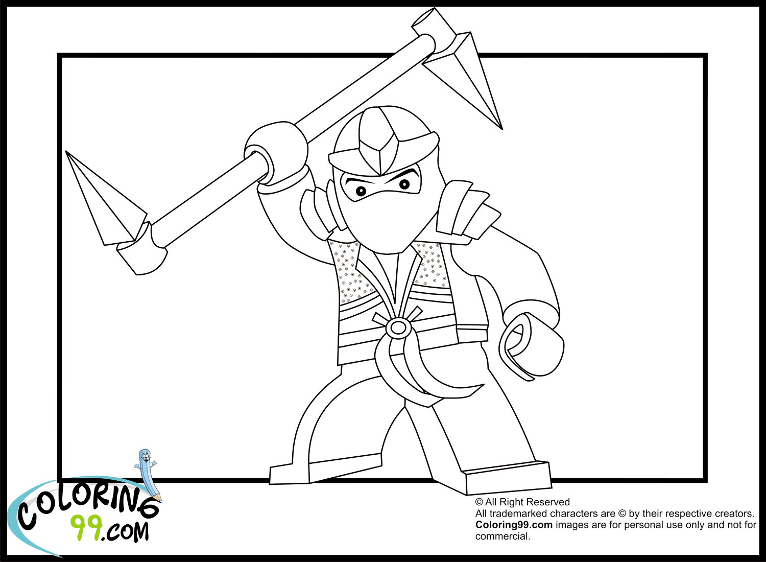 lego coloring pages ninjago - lego ninjago coloring pages team colors