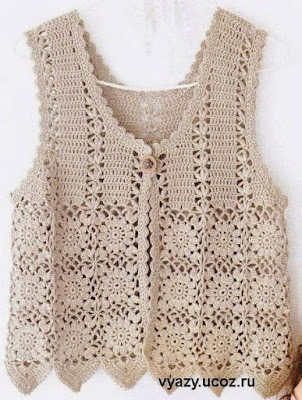 Free Crochet Charts for Timeless Vest