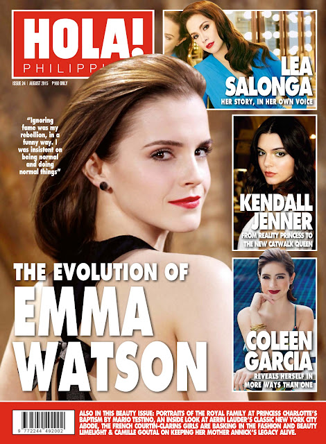 Actress, Model @ Emma Watson - HOLA! Philippines, August 2015