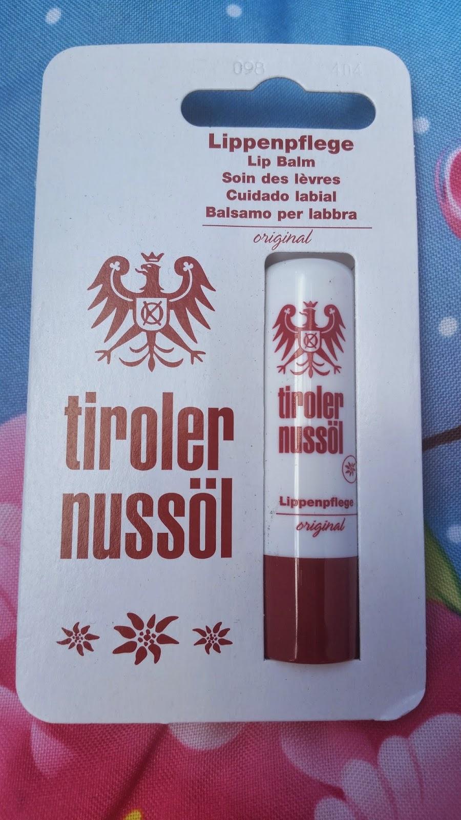 Tiroler Nussöl - Original Lippenpflege - www.annitschkasblog.de
