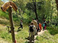 """Inici del Camí del Bosc Encantat. Autor: Francesc """"Caminaire"""""""