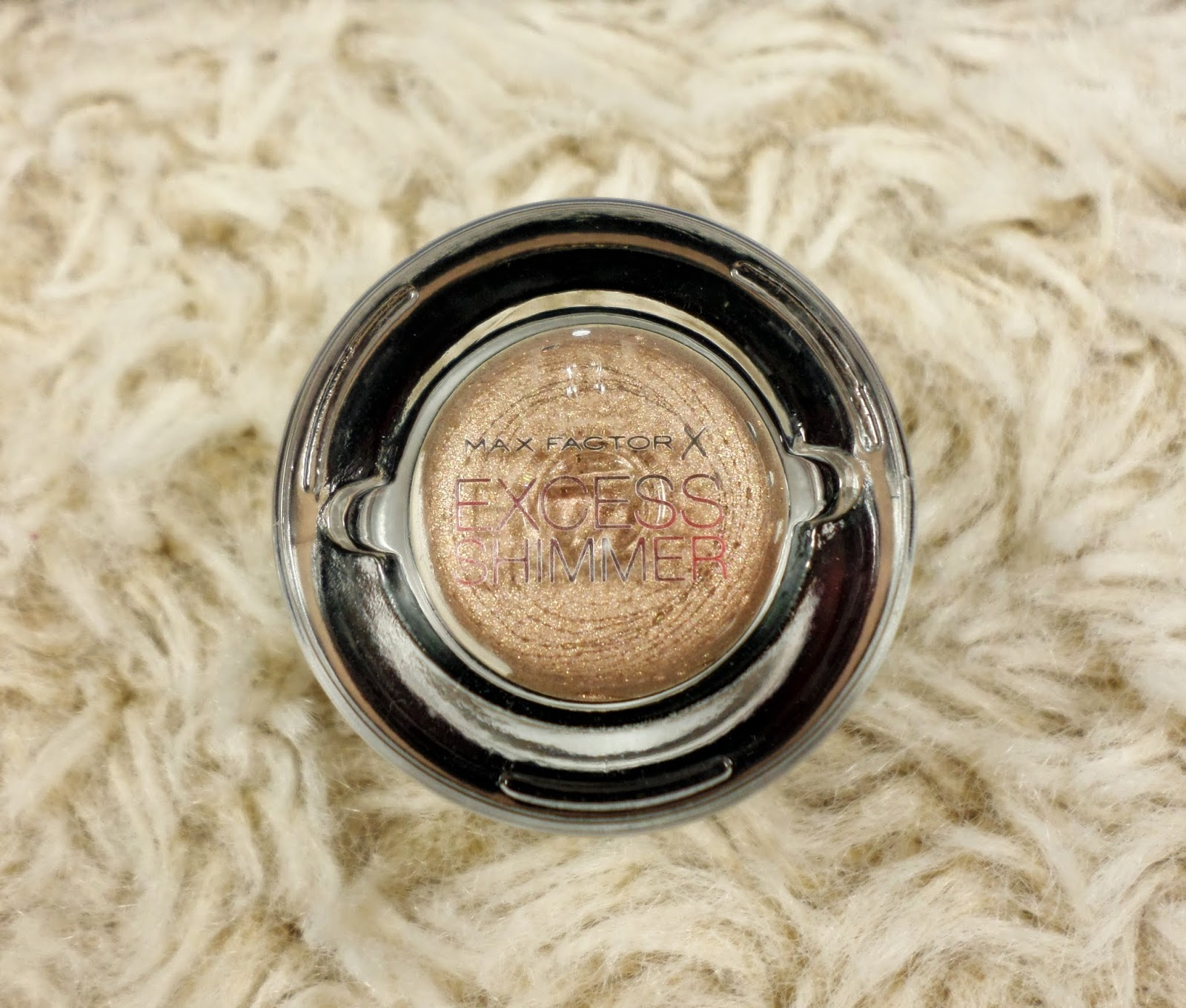 Max Factor Excess Shimmer Eyeshadow in 20 Copper