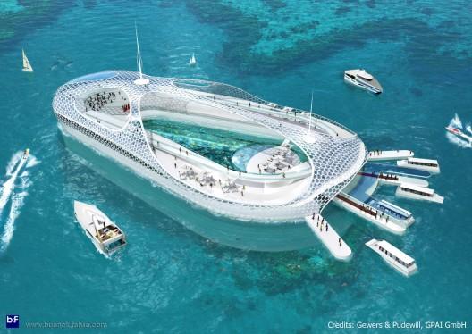 Ilia estudio interiorismo hotel bajo el agua for Hoteles bajo el agua espana