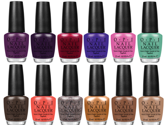 Preview OPI Nordic Collection - limitierte Edition (LE) - September 2014