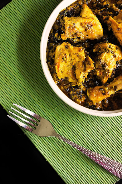 simple methi chicken curry