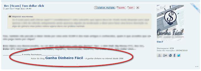 assinatura fórum ganha ganhar 1001 1001blogsforum referidos anunciar anuncia