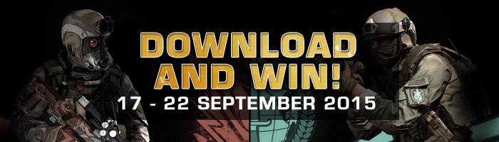 "Sambut September Big Update, Black Squad Hadirkan Event ""Download and Win"""