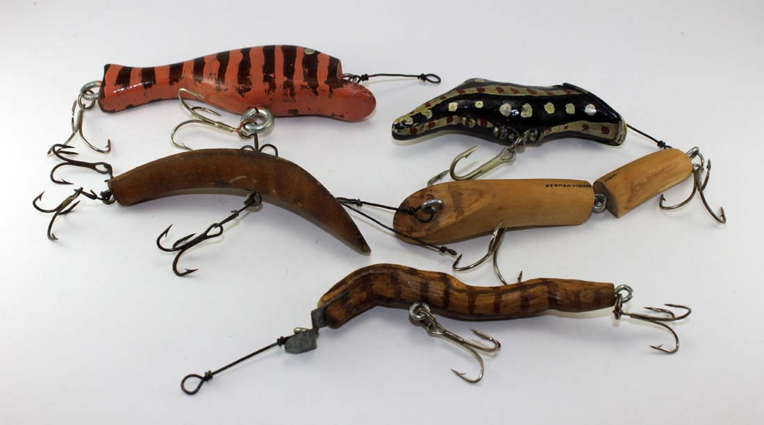 herman fischer. wi fishing lure maker | chance's folk art fishing, Fishing Bait