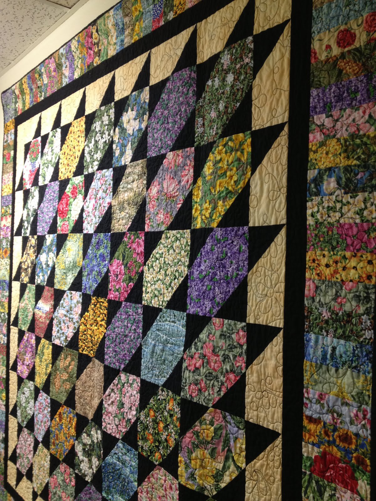 Starwood Quilter Sunflowers In Quilts And In Nature