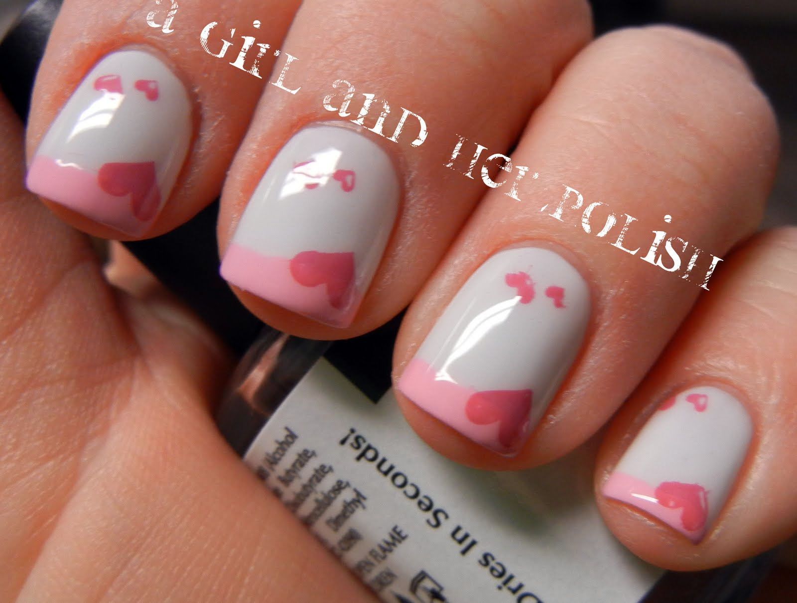 A Girl and Her Polish: Valentine French or French Valentine
