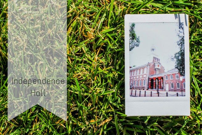 Independence Hall via Fujifilm Instax Polaroid