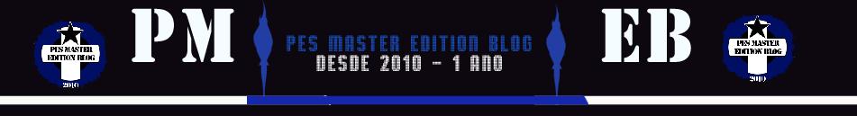 PES Master Edition Blog