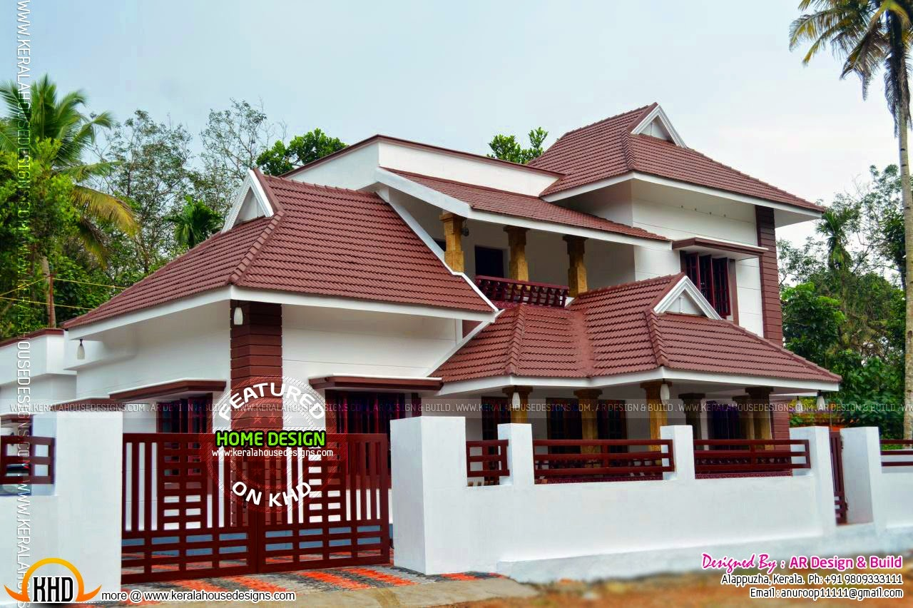 Furnished house kerala kerala home design and floor plans for Kerala style home