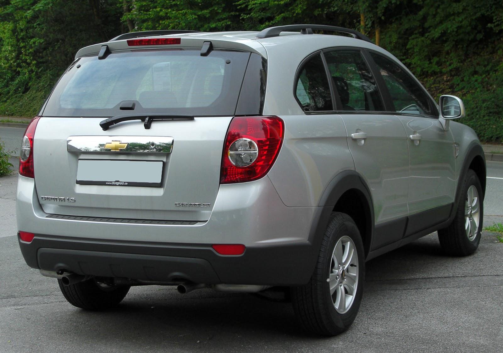 Jeepler Chevrolet Captiva 2013. Yeni jenerasyon otomobillere genel bakış 9