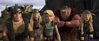Викинги из мультфильма как приручить дракона