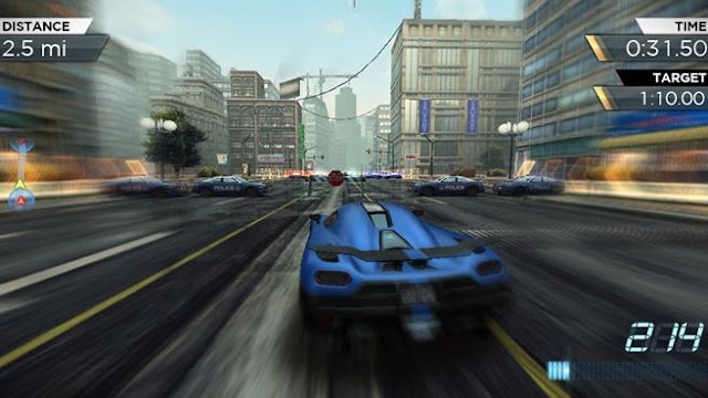 NFS Most Wanted Apk SD Data