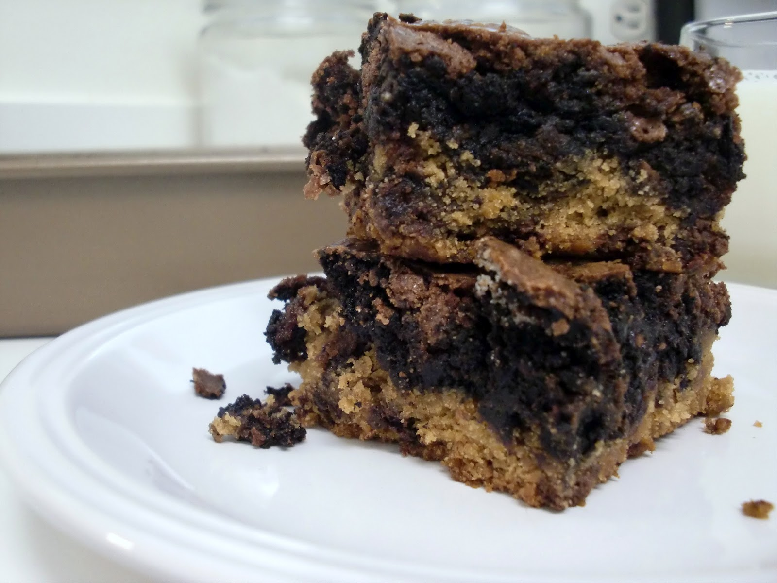 how to make chocolate chip brownies from scratch