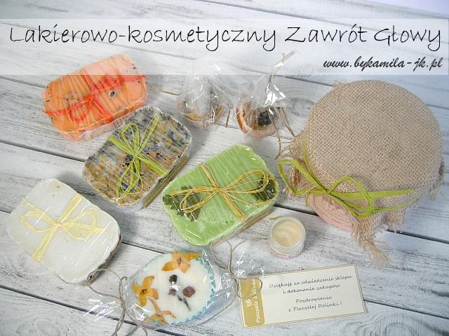 Zakupy Pszczela Dolinka mydło sól do kąpieli muffinka pachnotka i mazidełko