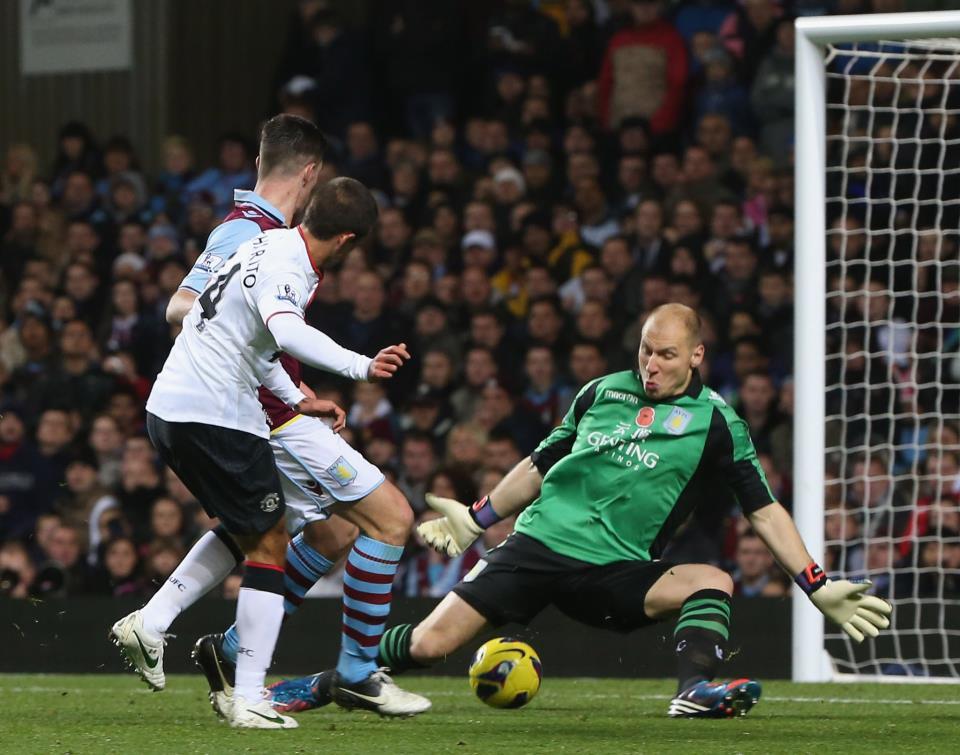 Macheda Goal Vs Aston Villa