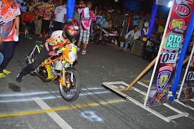 Hasil Drag Bike Nite Pekanbaru Riau 3 Mei 2014