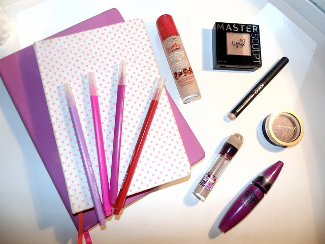 A Drugstore Back to School Make Up Look - Maybelline, Max factor, Bourjois, Kiko
