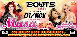 MUSA NO BOOT'S HOUSE - CARPINA - PE.