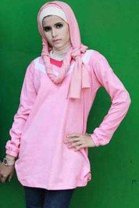 UKHTI Teens UT28 - Pink Muda (Toko Jilbab dan Busana Muslimah Terbaru)