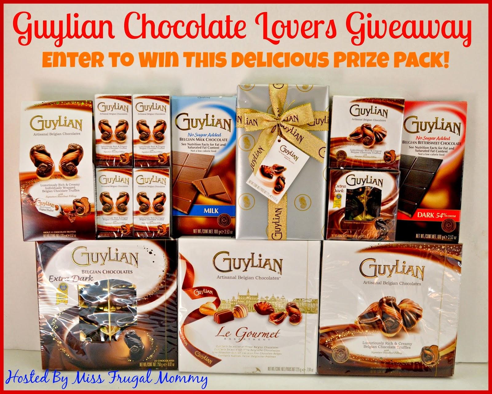 Guylian Chocolate Lovers Giveaway