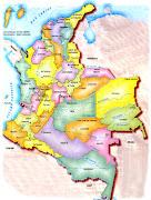 PZ C: mapa de colombia (mapa de colombia)