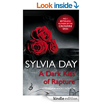 A Dark Kiss of Rapture (Renegade Angels) by Sylvia Day