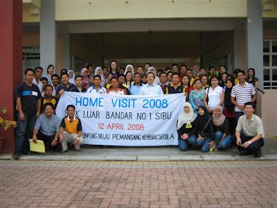 INOVASI | Program Home Visit: Pendidikan Sekolah ke Rumah Panjang