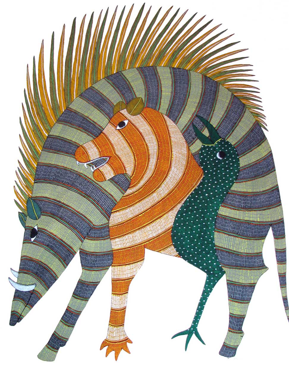 Gond Painting Artists