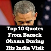Top 10 Quotes From Barack Obama During His India Visit