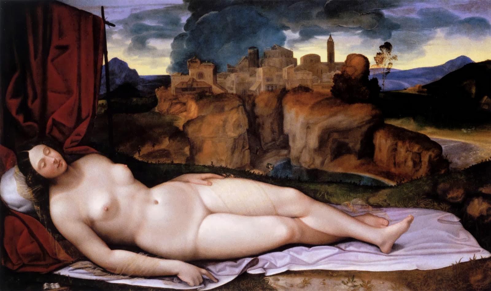 Venus dormida (Girolamo da Treviso, ca.1523)