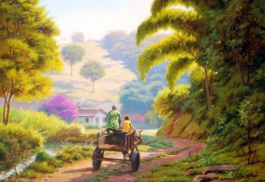 Pinturas oleo paisajes
