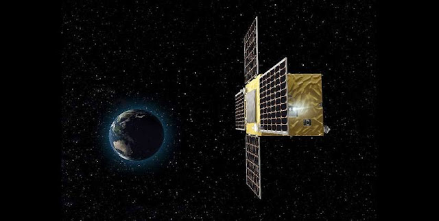 Artist's concept of the Procyon spacecraft. Credit: JAXA