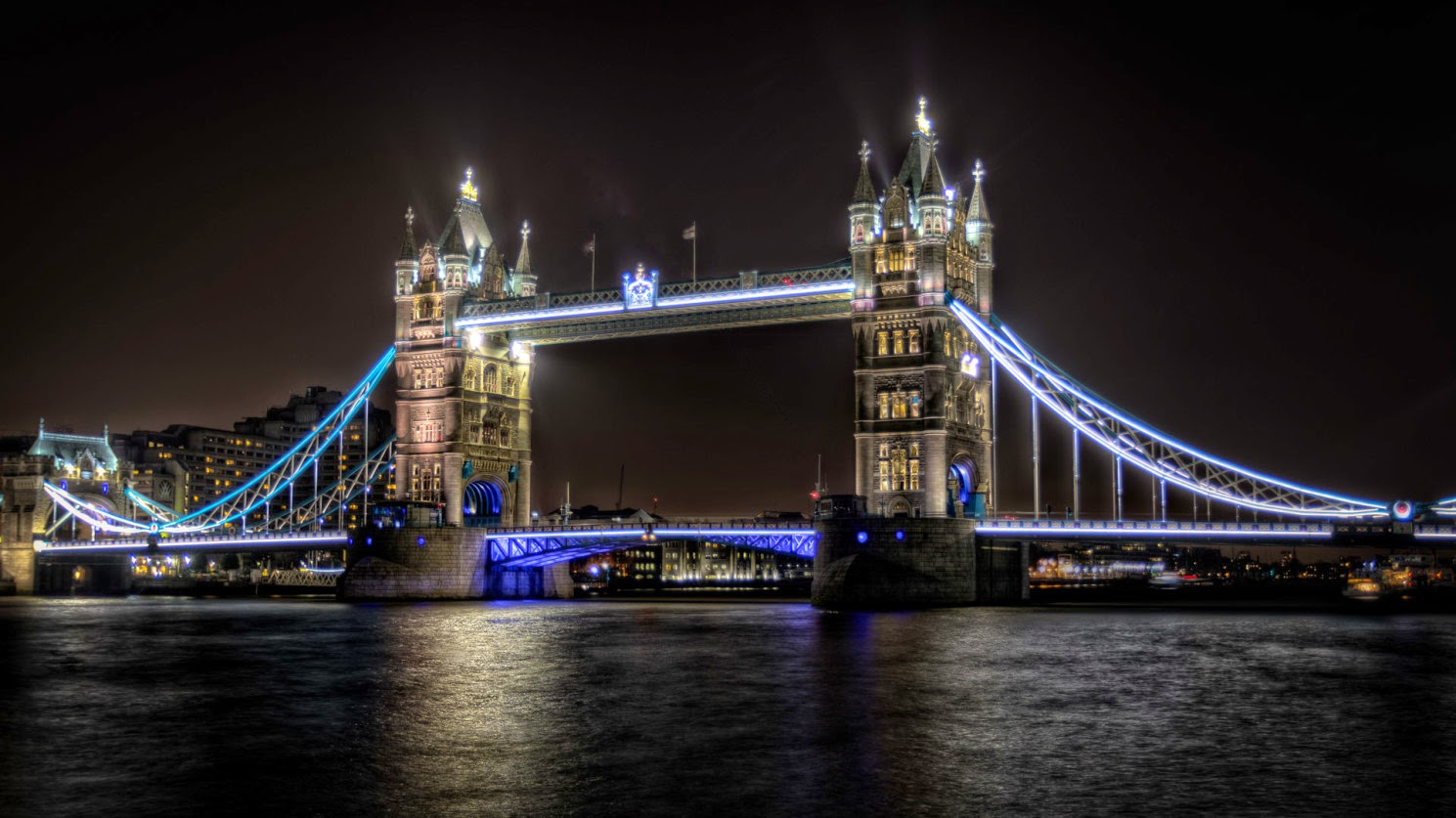 Alistair Cunningham, fotografía HDR, Tower Bridge, Londres