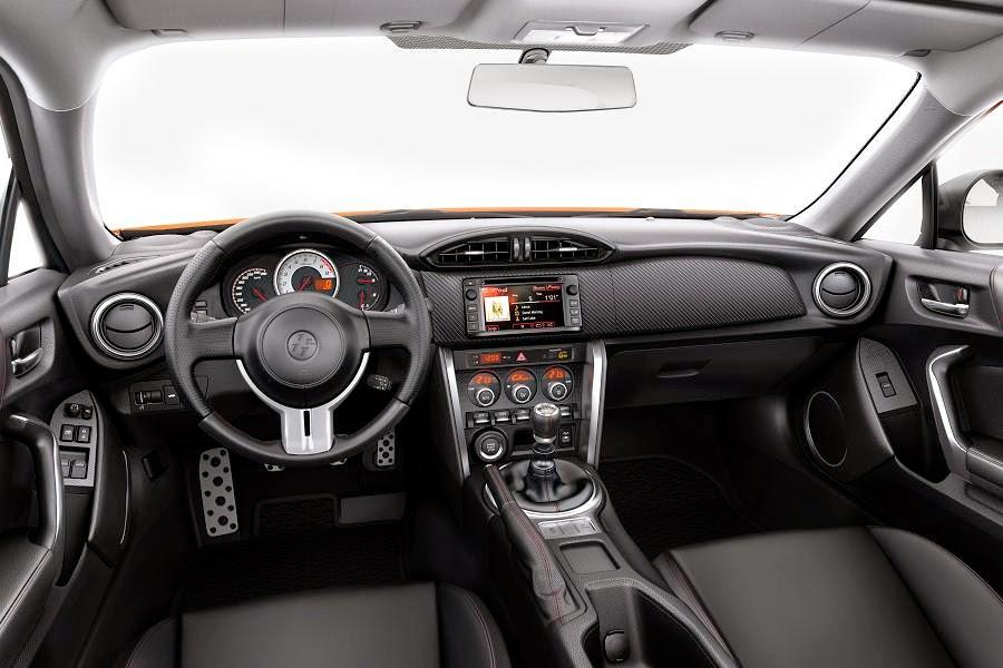 Toyota GT86 (2015) Dashboard