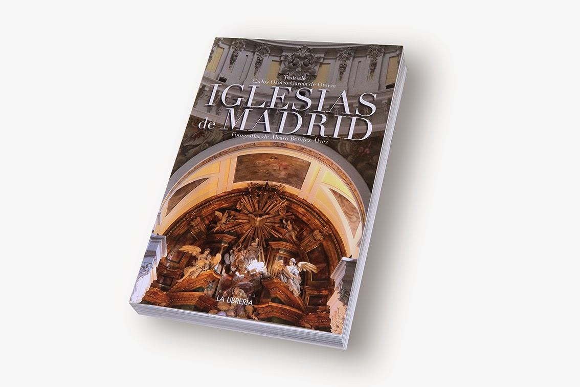 Mi nuevo libro: Iglesias de Madrid