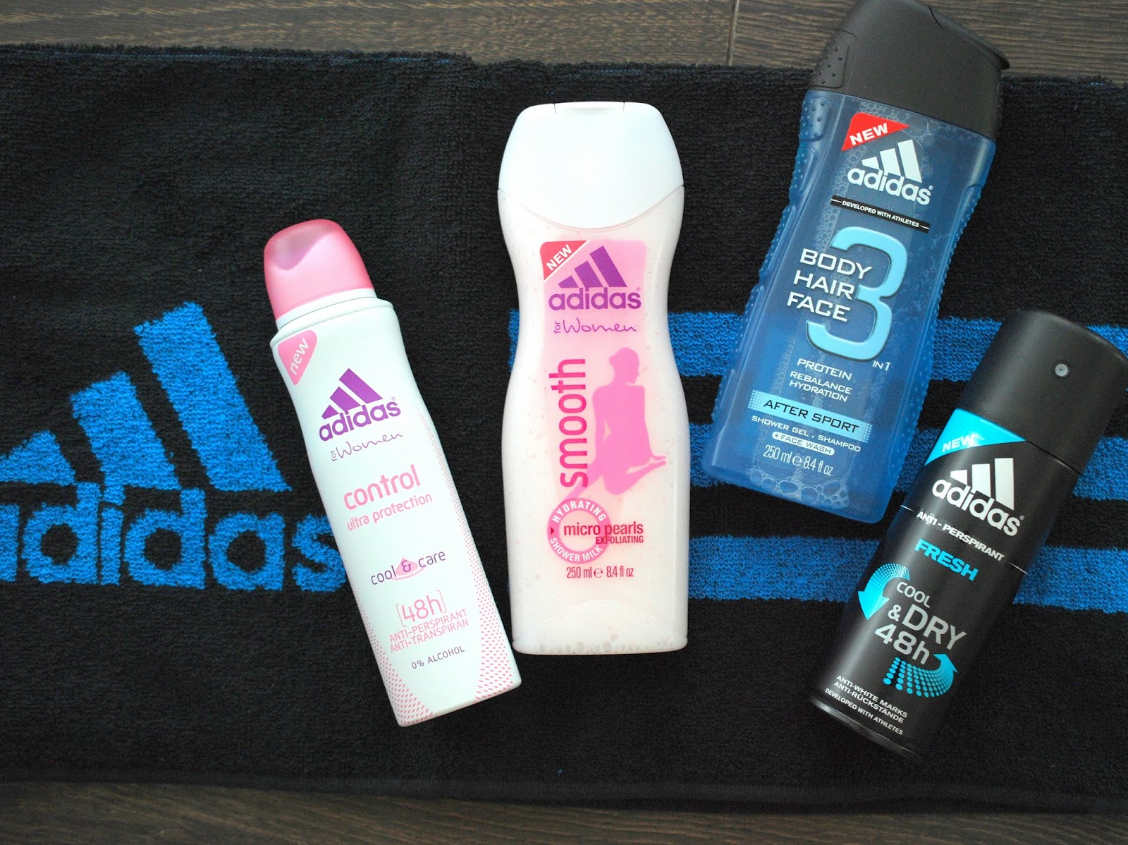 Beauty News Adidas For Women Smooth Shower Milk
