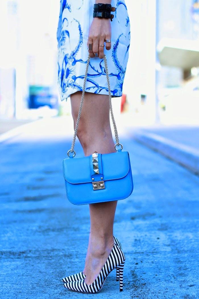 keepsake,porcelain skirt, valentino, rockstuds,alice+olivia, nastygal, croptop, karllagerfeld