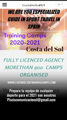 Training Camps en Costa del Sol