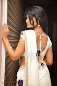 Alekhya Latest Photos in Saree at Donga Prema Audio-thumbnail-16