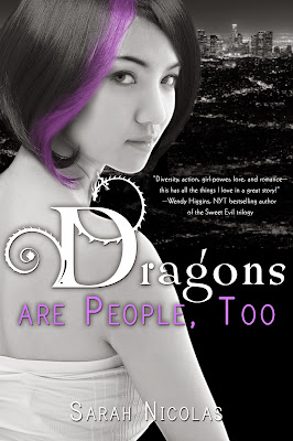 Cover Reveal: Dragons are People, Too by Sarah Nicolas (Giveaway)