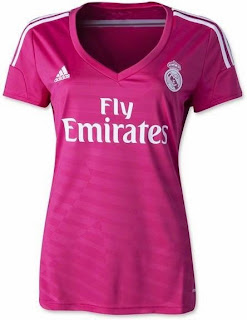 jersey wanita, kaos madrid Ladies, madeid away 2014/2015, kaos bola real madeid away, toko online baju bola wanita