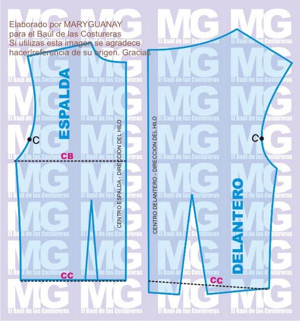 hacen de esta blusa un diseño singular con aires de los años 50´s