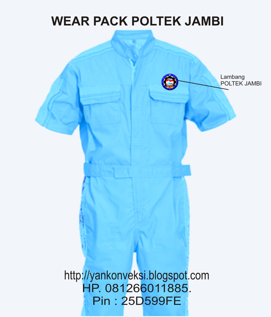 WEAR PACK POLITEKNIK JAMBI