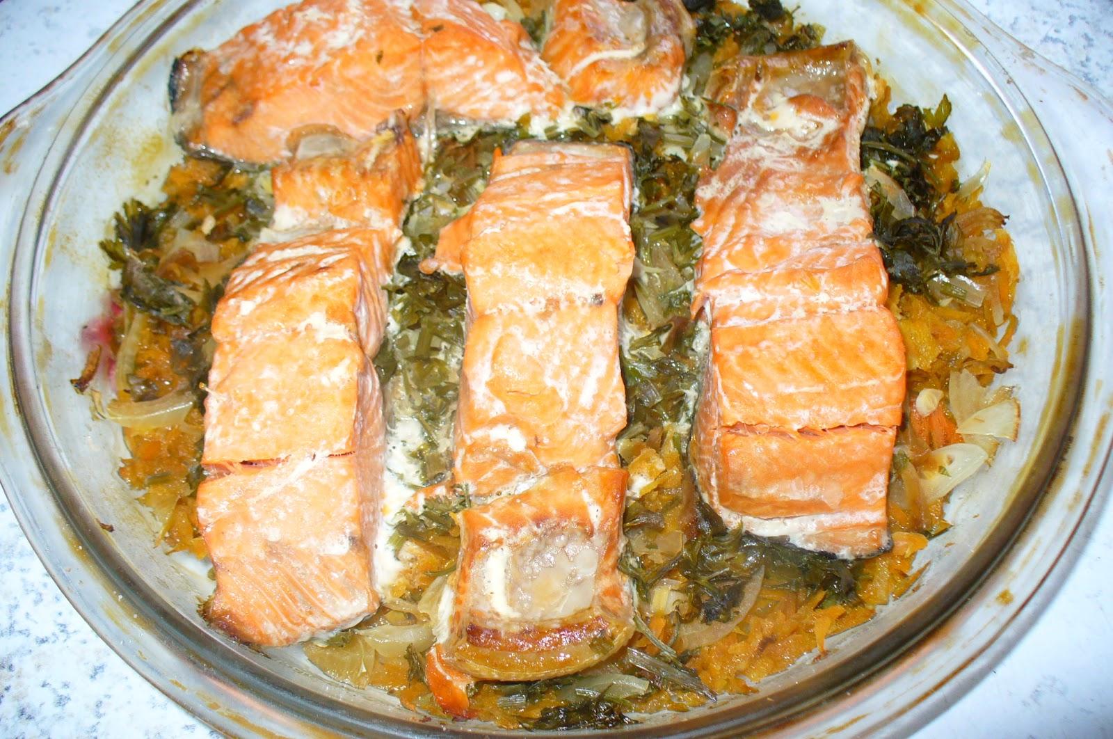 Горбуша с овощами в фольге в духовке рецепт пошагово в