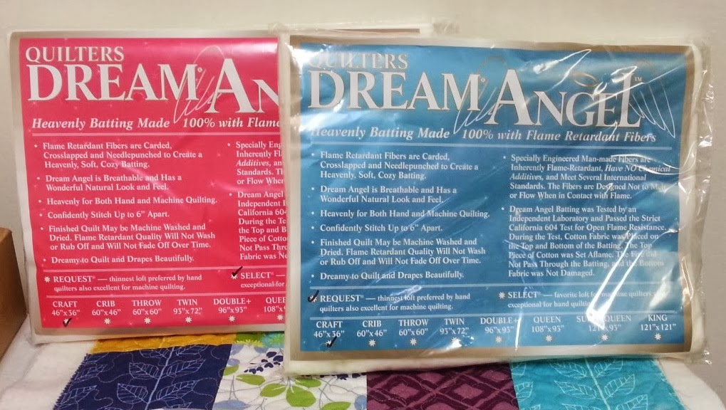 Quilters Dream Batting Angel Fire Retardant Batting.